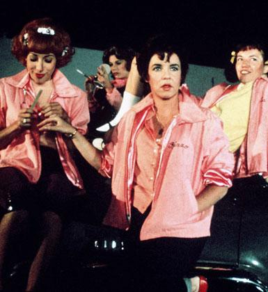 Grease Pink Ladies Costume Kids