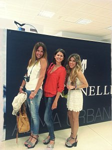 Con Amelia y MariLuz de www.blonde_mery.blogspot.com