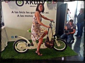 xkuv nos mostro las bicicletas electricas. Tienen un diseño genial y son bastante ligeras.