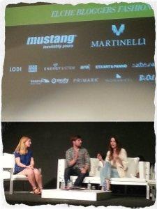 Macare Gea, Silvia Moya y Jose Maria Velaz. Mesa redonda blogger donde compartieron sus experiencias.