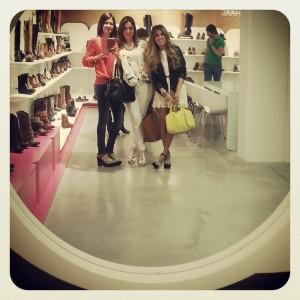Mary Mare. Aqui en el showroom de la marca con Cris Leveque y Blonde_Mery.