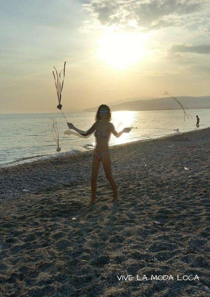 Aprovechando los dias de playa para jugar con las cariocas.